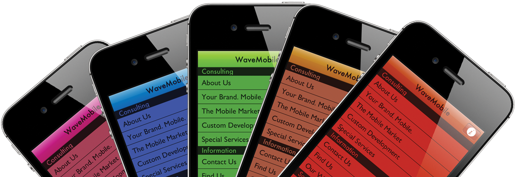 WaveMobile enables your organization to enter the mobile space quickly and cost-effectively, without having to manage complex technical requirements.